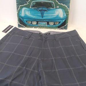 O'Neill gray plaid shorts
